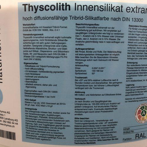 Thyscolith
